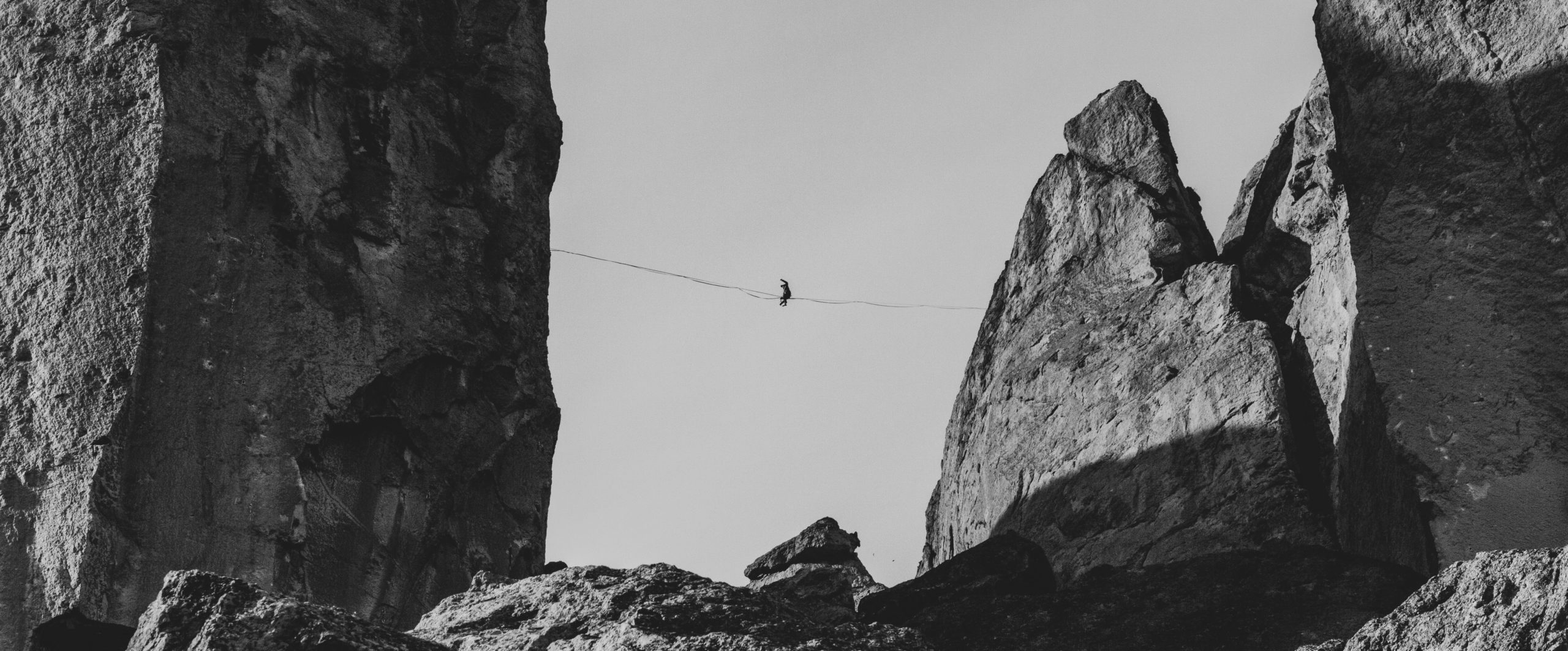 Walking a High Wire